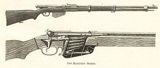 Bosnian-Herzegovinian Infantry - Gewehr Mannlicher M 1890