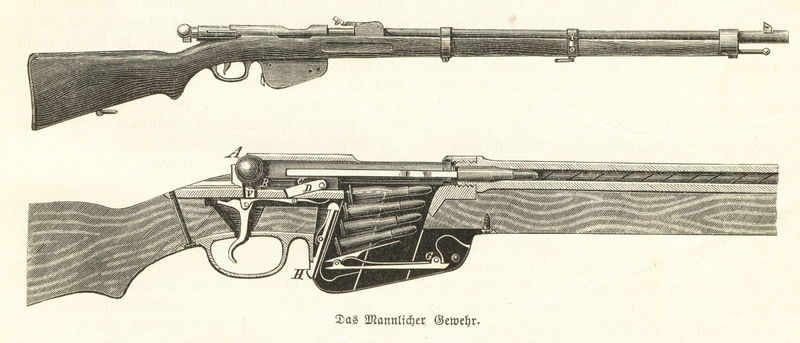Guns And Rifles of WW1 and WW2
