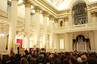 Mansion House, London - The Egyptian Hall in 2011