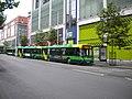 Many buses on Milton Street, Nottingham - geograph.org.uk - 3007952.jpg