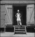 Manzanar Relocation Center, Manzanar, California. A chef of Japanese ancestry at this War Relocation . . . - NARA - 538171.tif