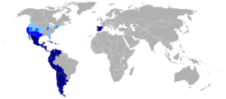 Map-Hispanophone World 2000.png
