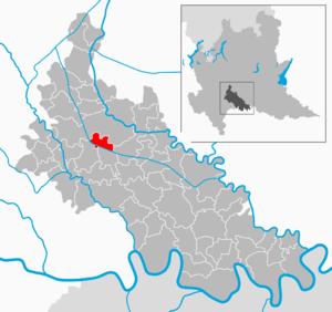 Cornegliano Laudense - Image: Map IT Lodi Cornegliano Laudense