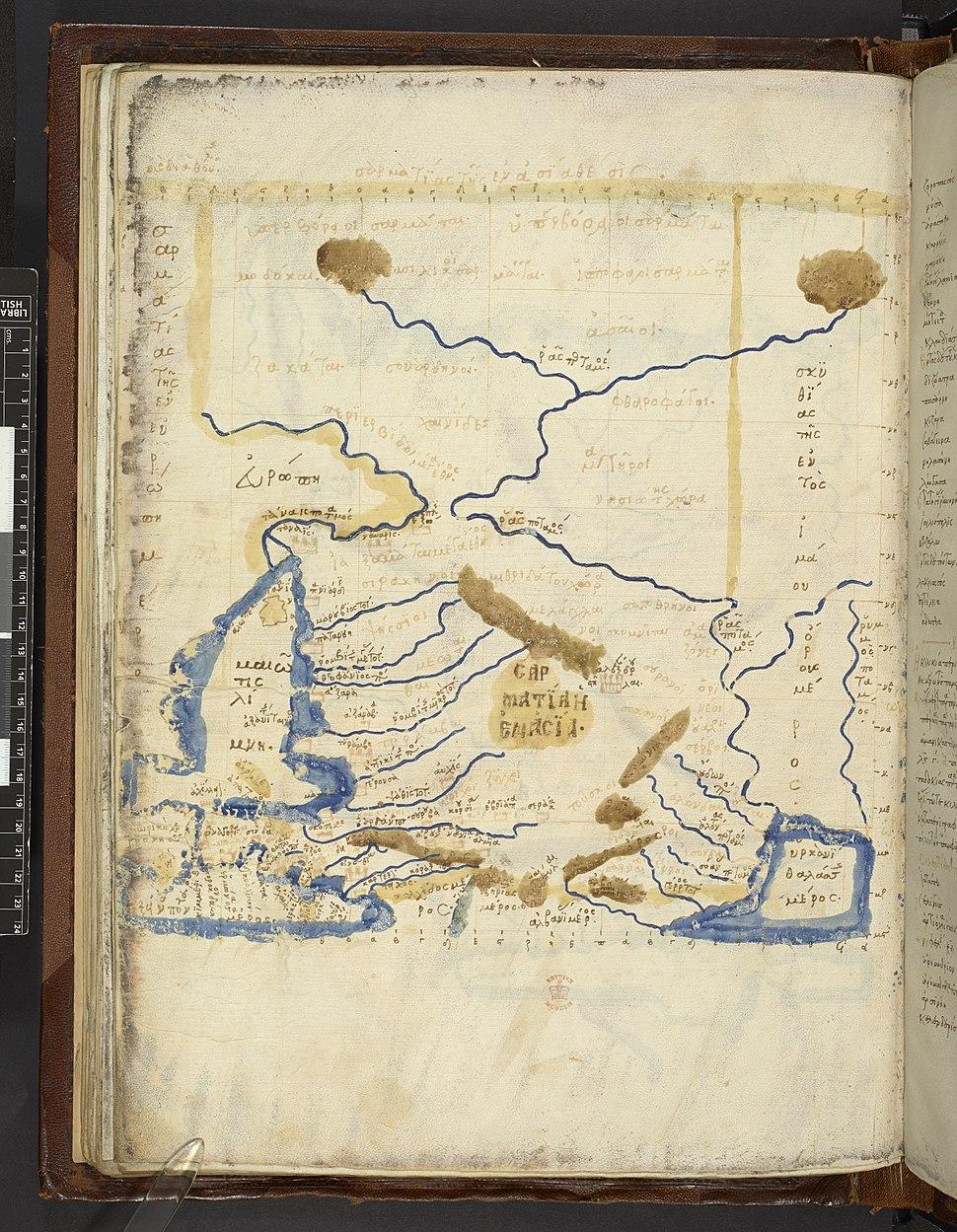Map after Ptolemy's Geographia (Burney MS 111, f.68v).jpeg