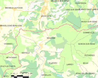 Map commune FR insee code 21419.png
