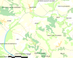 Map commune FR insee code 40211.png