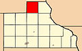 Map highlighting Prairie Springs Township, Jackson County, Iowa.jpg