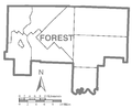 Map of Forest County, Pennsylvania No Text.png