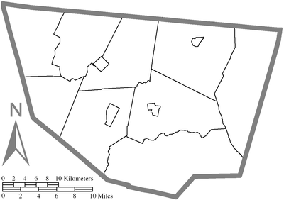 Map of Sullivan County, Pennsylvania All Blank.png
