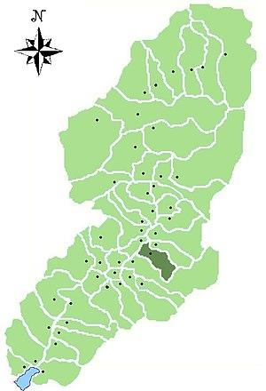 Niardo - Location of Niardo in Val Camonica