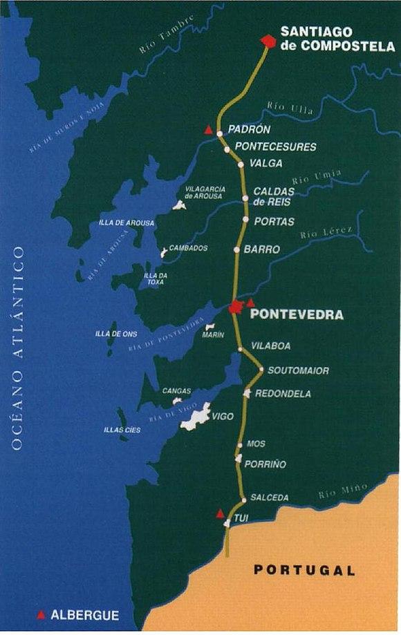 Caminho Portugues De Santiago Wikiwand