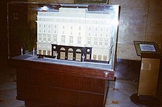Centro Cultural Banco do Brasil - Image: Maquete do Centro Cultural do Banco do Brasil Rio de Janeiro