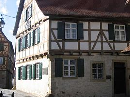 Schiller's birthplace