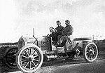 Marc Sorel, sur Isotta Fraschini B 28-35HP, le 1er septembre 1907 à la Targa Florio.jpg