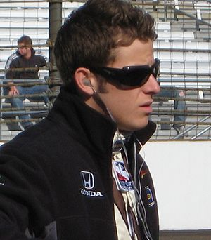 Marco Andretti - Andretti at the Indianapolis Motor Speedway in May 2008.