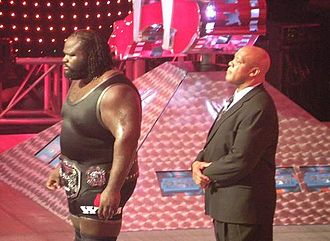 Mark Henry - Henry as ECW Champion with Tony Atlas