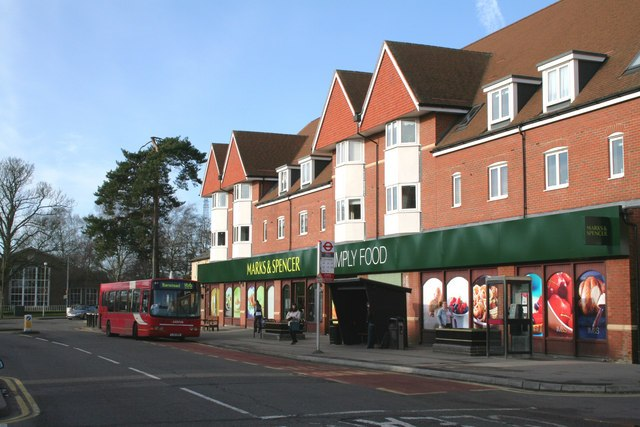 Marks and Spencer, Banstead, Surrey - geograph.org.uk - 339773