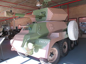 Marmon-Herrington Armoured Car - Mk VI prototype in the South African National Museum of Military History.