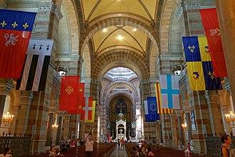 Marseille Cathedral - Image: Marseille Cathédrale bjs 180810 07