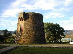 Martellotårnet i Hurtigt Beaufort.