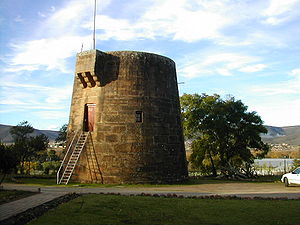 Fort Beaufort - The martello tower at Fort Beaufort
