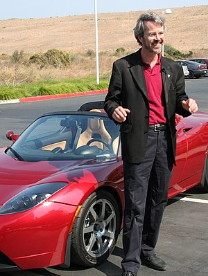 SF Motors - Chief Scientist Martin Eberhard.