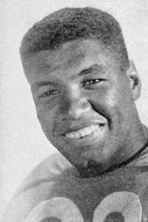 Marv Luster Player of American and Canadian football