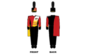 Mighty Sound of Maryland - Image: Maryland Marching Band Uniform
