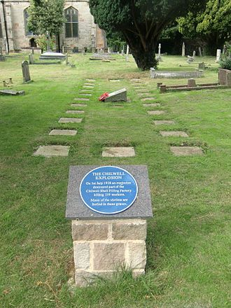 St Mary's Church, Attenborough - Mass Grave