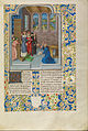 Master of the Soane Josephus (Flemish) - Froissart Kneeling before Gaston Phébus, Count of Foix - Google Art Project.jpg