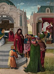 Master of the St. John's Altarpiece: The Birth of John the Baptist