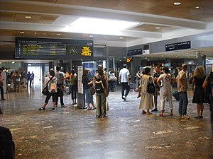 Gare de Toulouse-Matabiau - Image: Matabiau station west concourse