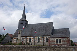 The church in Maucomble