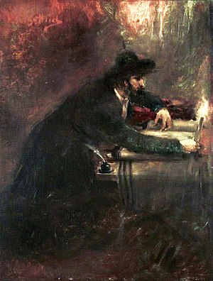 Sofer - The Torah Scribe by Maurycy Gottlieb, National Museum, Wrocław