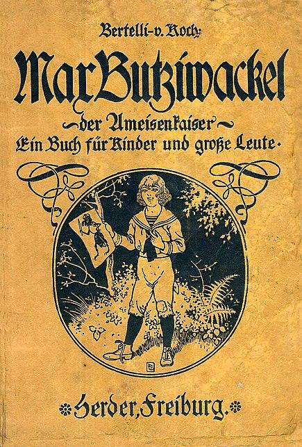 Buchcover Max Butziwackel der Ameisenkaiser