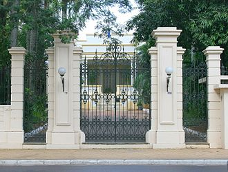 Mburuvicha Róga - Mburuvicha Róga as seen from outside one of its main entrances.