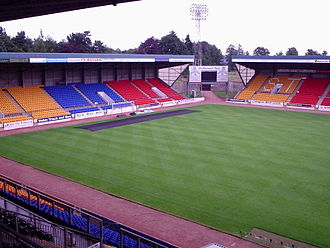 Scottish Challenge Cup - McDiarmid Park in Perth has hosted the final nine times, more times than any other venue.