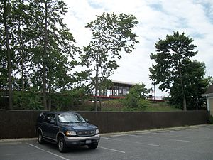 Medford (LIRR station) - Image: Medford Station from Long Island Avenue