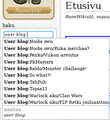 MediaWiki 1.22.5 search autocomplete.png