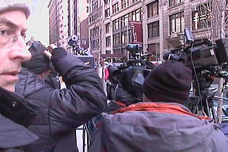 Ashley Alexandra Dupré - The media waited in vain outside Dupré's Manhattan apartment building the day after Spitzer's resignation