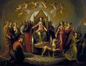 Alinari's Meeting Between Dante and Beatrice i...