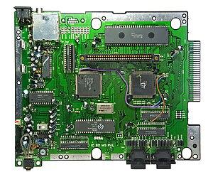 Mega Drive Mainboard (PAL)