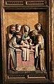 Meister francke, altare di santa barbara, amburgo 1420 circa, dalla chiesa di kalanti, sculture 02 circoncisione di gesù.JPG