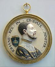 Jan van Leiden Koning der wederdopers ca 1535