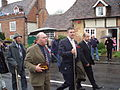 Members of the Harting Old Club, in the aftermath of their annual march (2007).jpg