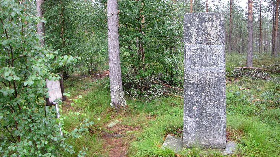 Memorial of Battle of Parjakanneva