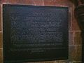 Memorial to Choristers of Carlisle, killed in the First World War.JPG
