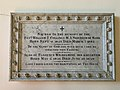 Memorial to Revd. William T. Collings in St Peter's Church, Sark.jpg
