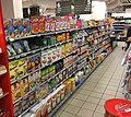 Meny Supermarket, Bergen Storsenter (shopping mall), Bergen, Norway, 2017-10-31 cereals etc.jpg