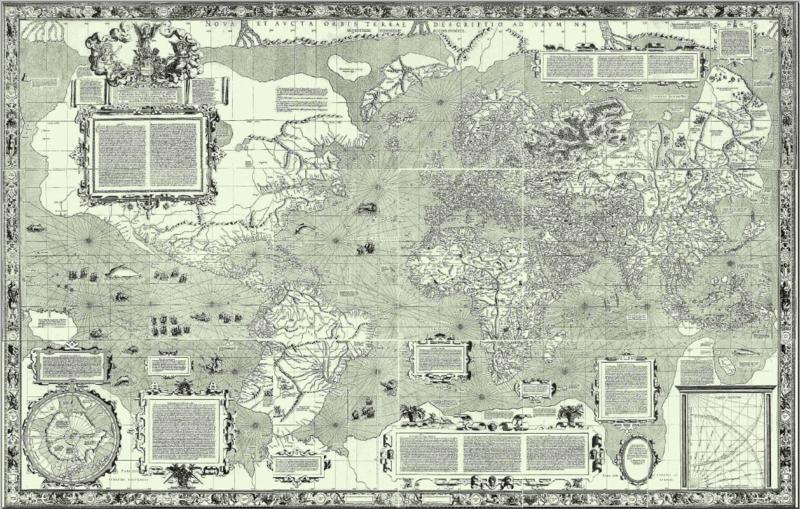 World map study tool